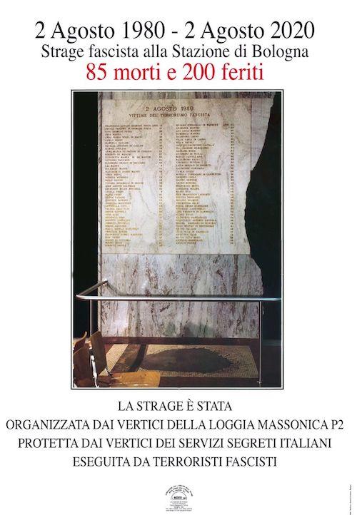 Strage Bologna: 2 agosto 1980 – 2 agosto 2020